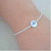 Personalized Floating Initial Bracelet Gift