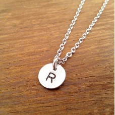 Initial Necklace - Modern Dainty