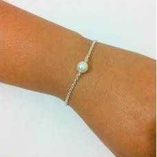 Floating Pearl Bracelet