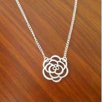 Rose Necklace - Modern Dainty